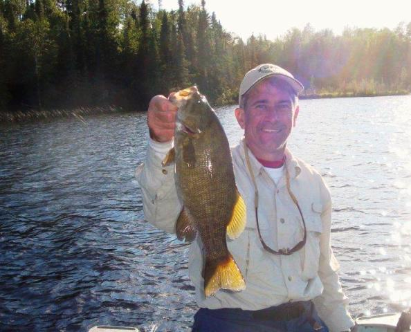Smallmouth bass fishing trips in ontario woman river camp for Bass fishing lakes near me