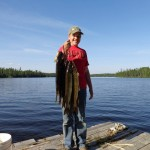 Eater fish from Confederation Lake