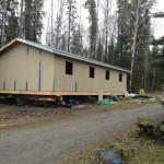 construction of cabin 1