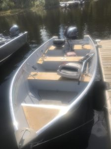 Rental fishing boat